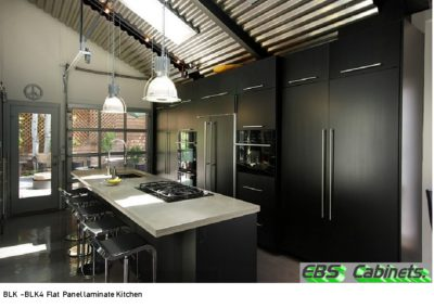 BLK -BLK4 Flat Panel laminate Kitchen