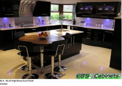 BLK -BLK5 High Bloss Auto Finish Kitchen