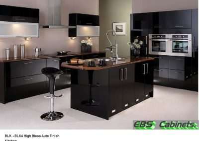 BLK -BLK6 High Bloss Auto Finish Kitchen