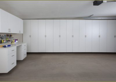 White-garage-wall-cabinets