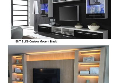 ENT BLK9 TAN10 Wall Units