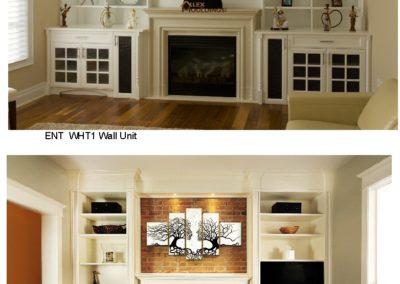 ENT WHT1 WHT2 Wall Unit
