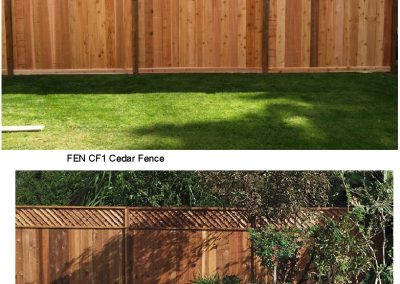FEN CF1,CF2 Wood Fencing