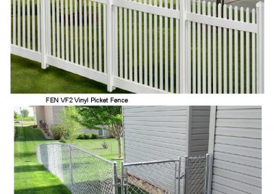 FEN VF2, CL3 Fence