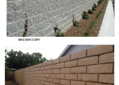 MAS BW12,13 Block Wall