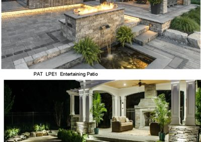 PAT LPE1,2 Entertaining Patio