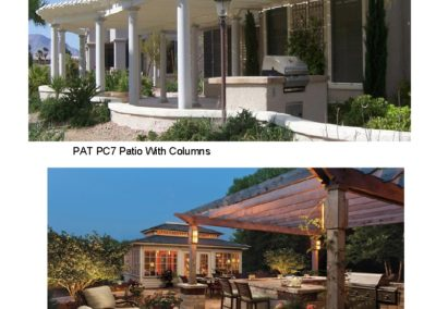 PAT PC7, PG4 Patio Covers